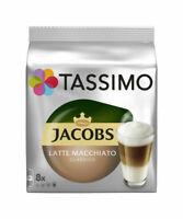 [MHD-WARE] Tassimo Jacobs Latte Macchiato Classico 8 Kaffeekapseln MHD: 22.05.18