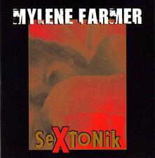 CD SINGLE 2 TITRES MYLENE FARMER SEXTONIK CARDBOARD SLEEVE NEUF SOUS BLISTER