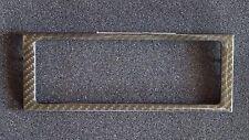 PORSCHE 996 GT 3 TURBO S GT2 CARBON FIBER DASH AC TRIM CENTER TRIM COVER NEW