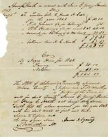 1849 - Slavery Document