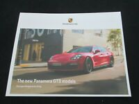 2019 2020 Porsche Panamera GTS Rare Large Sales Brochure Sedan GTS Sport Turismo