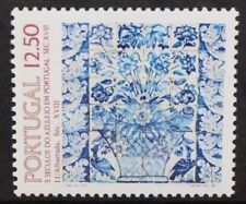 PORTUGAL 1983 Tiles 11th Series Flowers. Set of 1. Mint Never Hinged. SG1935.