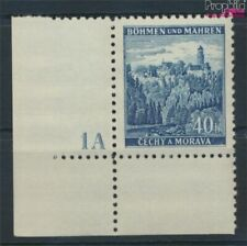 Bohemen en Moravië 25 met Nummerplaat postfris MNH 1939 Klingenberg (9310259