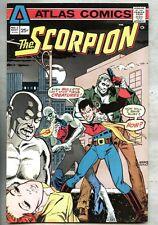 Scorpion #2-1975 fn+ Atlas Howard Chaykin Bernie Wrightson