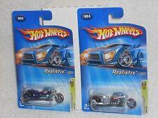 Hot Wheels Lot of 2 2005 FE #004 Airy 8 Silver & Kmart Kdays Purple