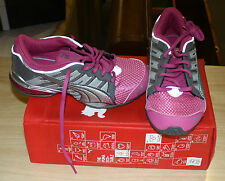 PUMA VOLTAIC 3 18513828 YOUTH SIZE 7 PINK/SILVER NEW IN BOX FREE SHIPPING