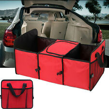 Organiser 2-in-1 Car Boot Shopping Tidy Heavy Duty Foldable Collapsible Storage