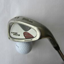 WILSON POWER SOURCE OVERSIZE. S Wedge STAINLESS STEEL. RIGHT handed # 219