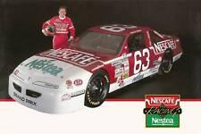 CHUCK BOWN 1993 NESCAFE NESTEA NASCAR PHOTO POSTCARD