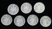 1968-74 Half Dollar 50 Cent Lot of 7 pcs. - NCC