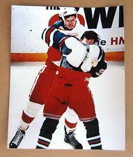 Red Wings Bob Probert vs Joe Kocur Fight Pic