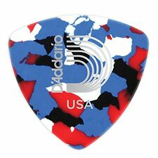 Planet Waves Multi-Color Celluloid Guitar Picks, 25 pack, Heavy, Wide Shape