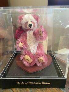 World of Miniature Bears Charlotte Toby Award Nominee – Mint In Box w/COA