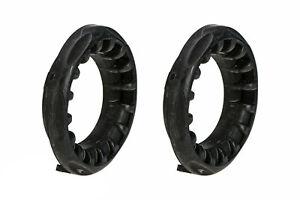 04-13 Mazda 3 5 CX-7 Rear Suspension Coil Spring Rubber Insulator Set 2 OEM NEW