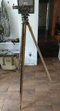 W & L E Gurley Tripod & Berger Instruments Model 326 Transit Brass and wood
