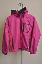Killtec Level 2 Waterproof Windbreaker Pink Hooded Jacket Youth Girls size 12