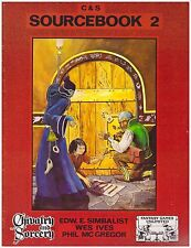 C&S SOURCEBOOK 2 - Chivalry and Sorcery - 7703 - Excellent Condition!