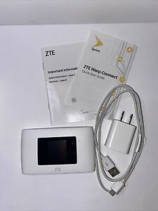 ZTE Warp Connect - MF920VS - 4G WiFi MiFi Mobile Hotspot (Sprint) - Free Ship