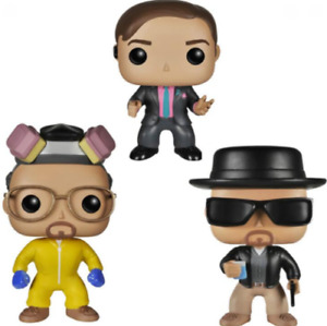 Funko Pop!TV:Breaking Bad Heisenberg Saul Goodman Walter White Vinyl Figure Toys