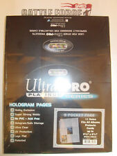 ULTRA PRO - PLATINUM SERIES 100 POCKET PAGES TRADING CARDS & COLLECTIBLE ALBUMS