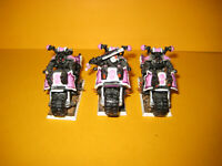 Warhammer 40k - Chaos Space Marines - 3x Bikers