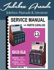 Rock-Ola 444, 160 Selection & 445, 100 Selection  Service Manual & Parts List