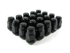 MRC 24x Black Bulge Wheel Nuts Steel M12x1.25 QTY 24 Nissan Patrol GQ GU Navara