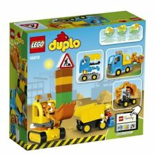 Lego Duplo Truck and TRACKED Excavator Playset Toy (10812)