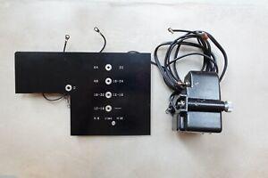 Vintage Bolex Paillard Unimotor MC-17 Drive Motor H16, H8 w/ Variable FPS Board