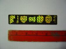 Nos Webco 4130 Chrome Moly Sticker Decal Vintage Old School Bmx 70's Prism