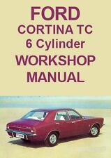 Ford books and manuals ebay ford cortina tc 6 cylinder workshop manual 1971 1973 reduced to 7 fandeluxe Gallery