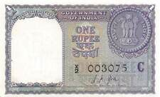 India  1  Rupee  1957  Series  X/2  Uncirculated banknote D32