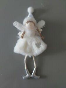 Christmas Fairy Decoration. Plush Hanging Fairy Decoration, Tree Decoration
