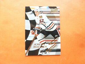 Jeremy Roenick, 1993-94 Fleer Ultra Speed Merchant #9, Chicago Blackhawks