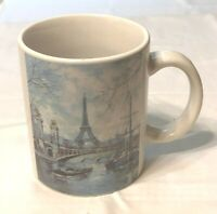JAM DISTRIBUTION ARTERTRE PARIS EIFFEL TOWER CERAMIC COFFEE MUG / CUP