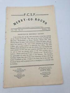 1954 FCSF Merry-Go-Round Friendship Circle Showland Fans Fairground Newsletter