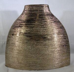 "Privilege Ceramic ""Bronze Color"" Vase Small T2"