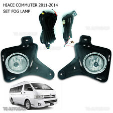 Set Spot Fog Light Lamp Kit For Toyota Van Hiace Commuter D4D 2011 2012 2013