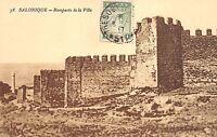 B92614 salonique remparts de la ville greece