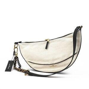 MARC JACOBS Eclipse Shoulder Bag Natural M0016239-255 New Box
