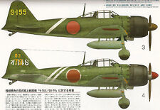 IMPERIAL JAPANESE NAVY AIR UNITS BATTLEFIELD PHOTO COLLECTION Book w/ ZERO Model