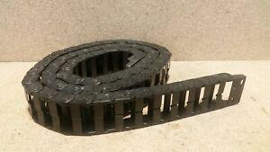 """igus Wireway Flex Cable / Hose Carrier 2"""" x 1"""" 14.4.028  81"""" Long  S7"""