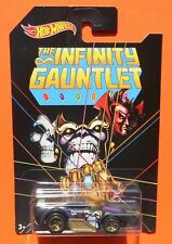 2018 Hot Wheels The Avengers INFINITY GAUNTLET THANOS Chase Car -Ships Free