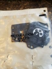 NEW MCCULLOCH OEM TILLOTSON NEEDLE /& SEAT      PART NUMBER 51707-A    FITS D44