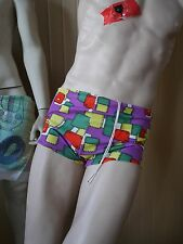 OLUBA Badehose  D 6  GB M Bademoden 80er artsy TRUE VINTAGE GDR Swimming Trunks