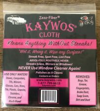 3 Kaywos Cloths - Zezo Fiber - Free Shipping 3-Pack Clean Without Streaks!