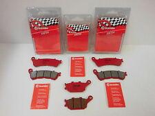 Brembo Bremsklötze Bremsbeläge vorne + hinten Honda CBF 600 1000 ABS PC43 SC64