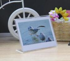 2* Clear Photo Frame For Fujifilm instax210 WIDE 300 Polaroid Camera  Film