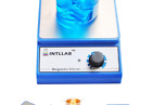 INTLLAB Magnetic Stirrer Stainless Steel Magnetic Mixer with stir bar (No Hea...