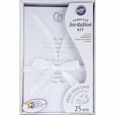 Wilton DIY Infinity Wedding Invitation Kit 25 Pack